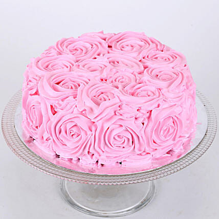 Floral Chocolate Cake 2Kg Eggless