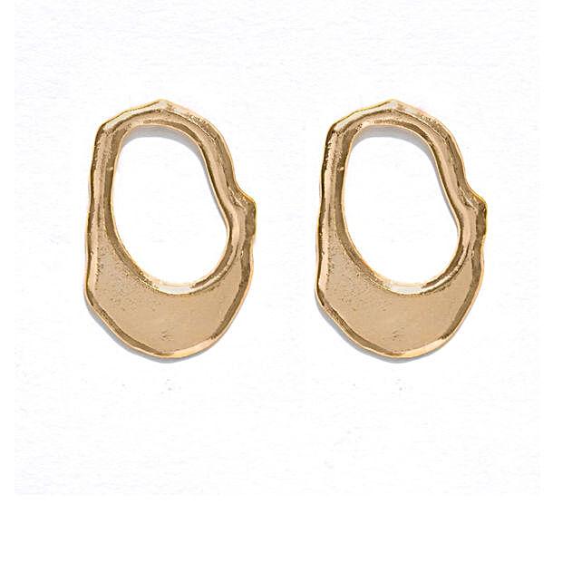 Fluid Gold Earrings