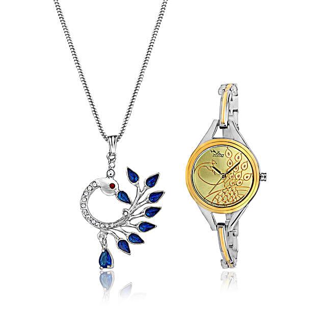 Personalised Watch & Beautiful Pendant