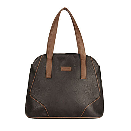 Purseus Swathy Somber Handle Bag