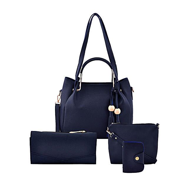 LaFille Blue Bag Set