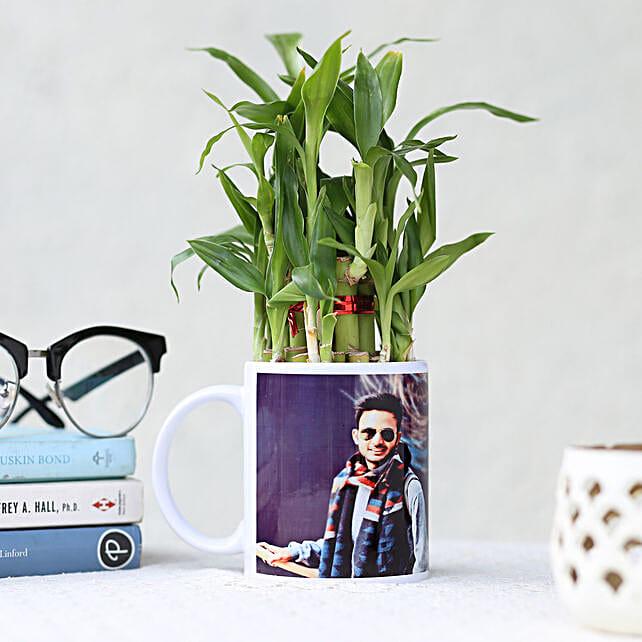 Online Personalised Lucky Bamboo Mug