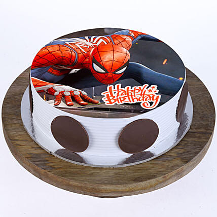 Best spider-man cake:Spiderman Birthday Cakes