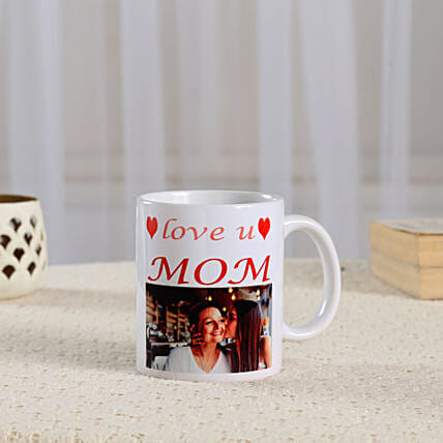 Coffee Time Personalised For Mum-white ceramic coffee mug