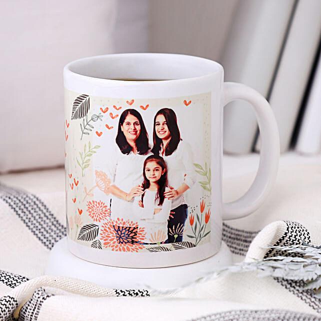 Personalised Woman Power Photo Mug