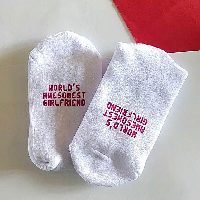 Awesome Girlfriend Socks