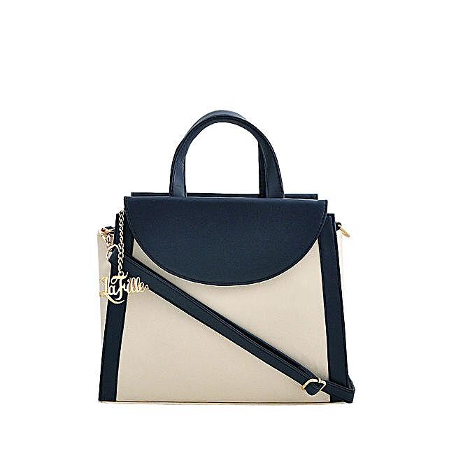 online blue handbag
