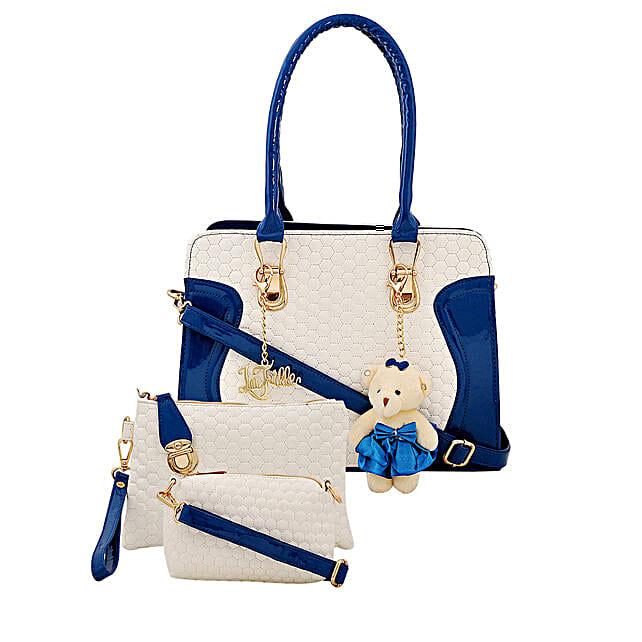 3 set of multicolour handbag for her