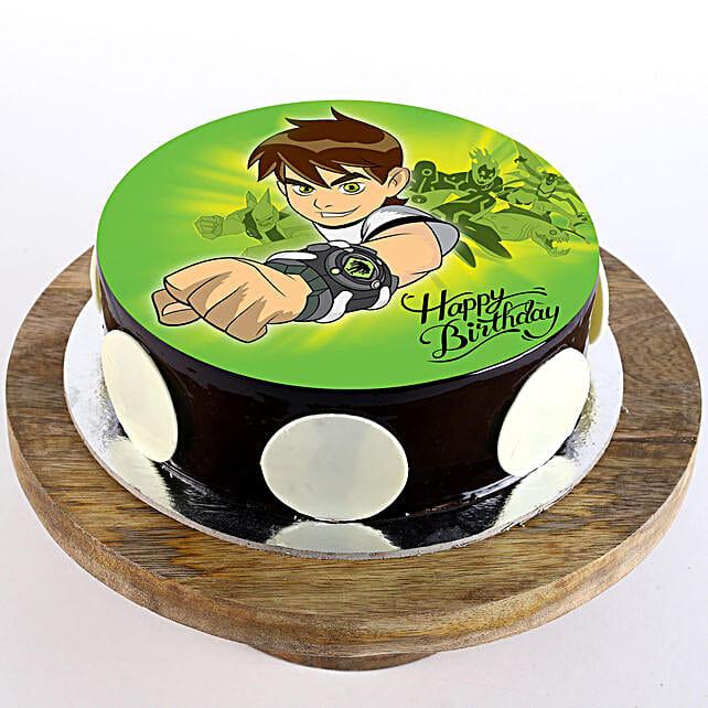 best ben 10 cake for kid:Send Cartoon Cakes