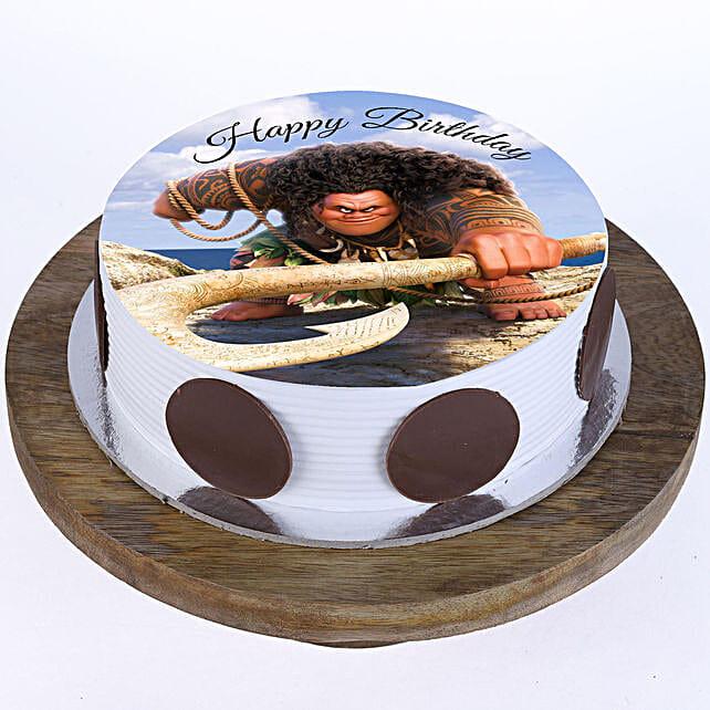 Maui Photo Cake- Vanilla 2 Kg