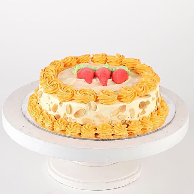 Creamy Carrot Cake- 1 Kg Eggless