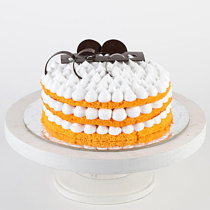 Orange Cream Cake- Half Kg