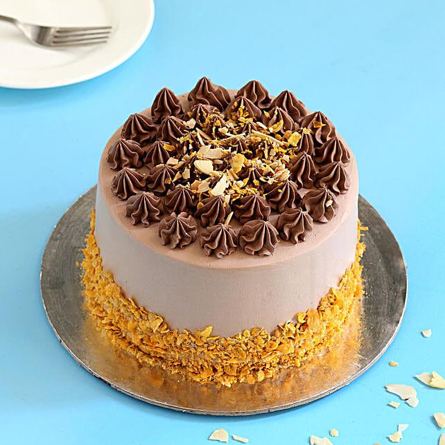 Online Alomand Flakes Cake