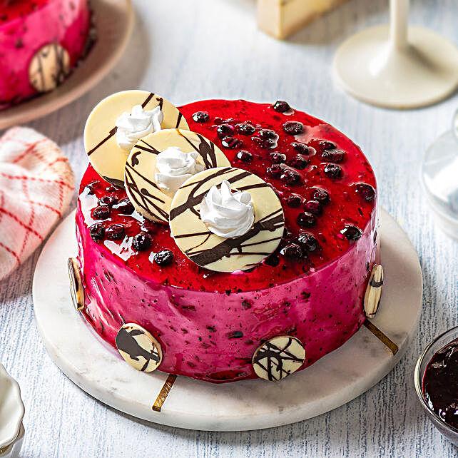 Online Blueberry Glaze Cake
