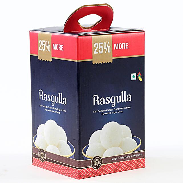 Tin of rasgulla sweets