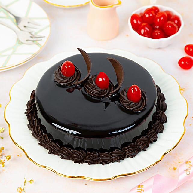 Chocolate Truffle Cream Cake Half kg