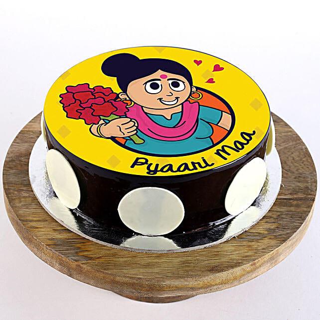 Pyaari Maa Chocolate Cake- Half Kg
