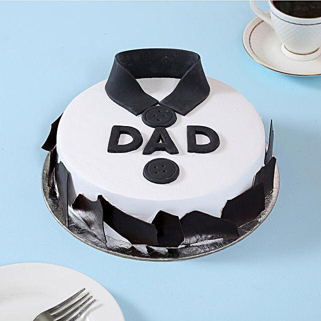 Classic Fondant Dad Cake 2kg Vanilla