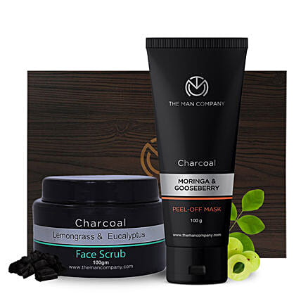 The Man Company Face Cleanse Duo