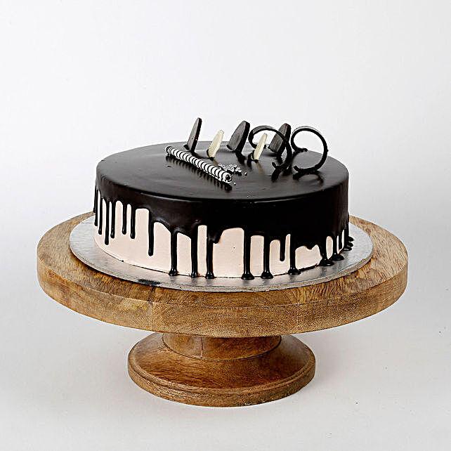 Creamy Chocolate Cake Half kg