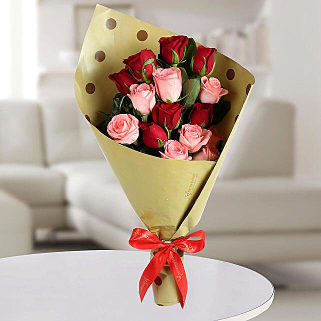 Mixed Roses Bunch