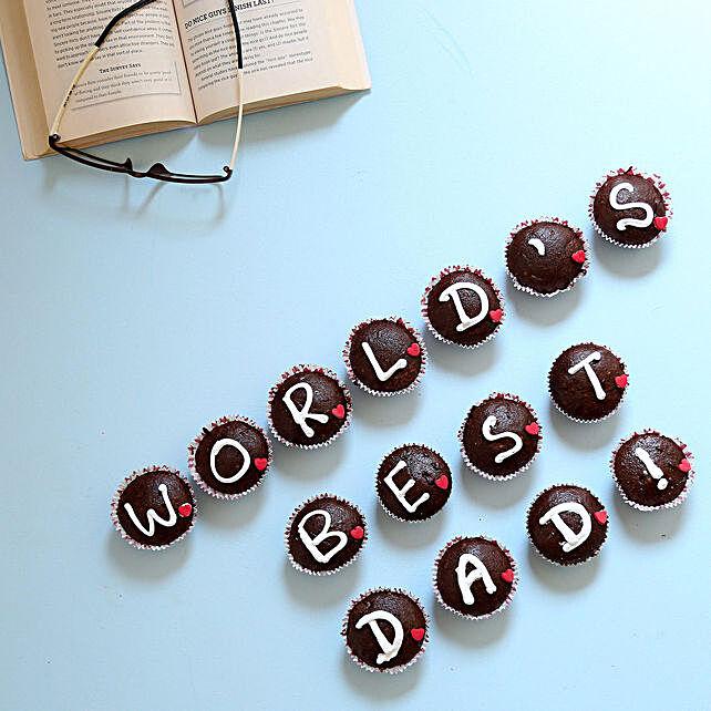 Worlds Best Dad Cupcakes 15