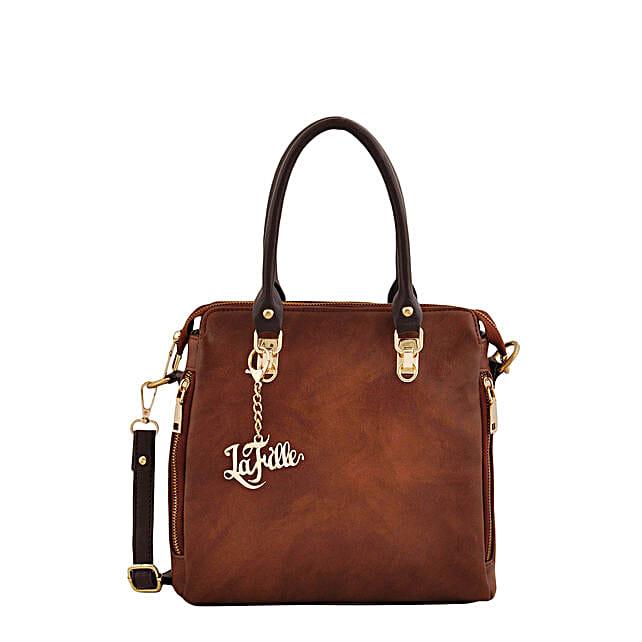 LaFille Swish Tan Handbag