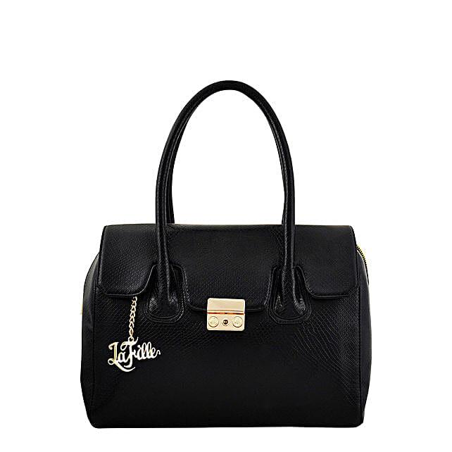 LaFille Vogue Black Handbag