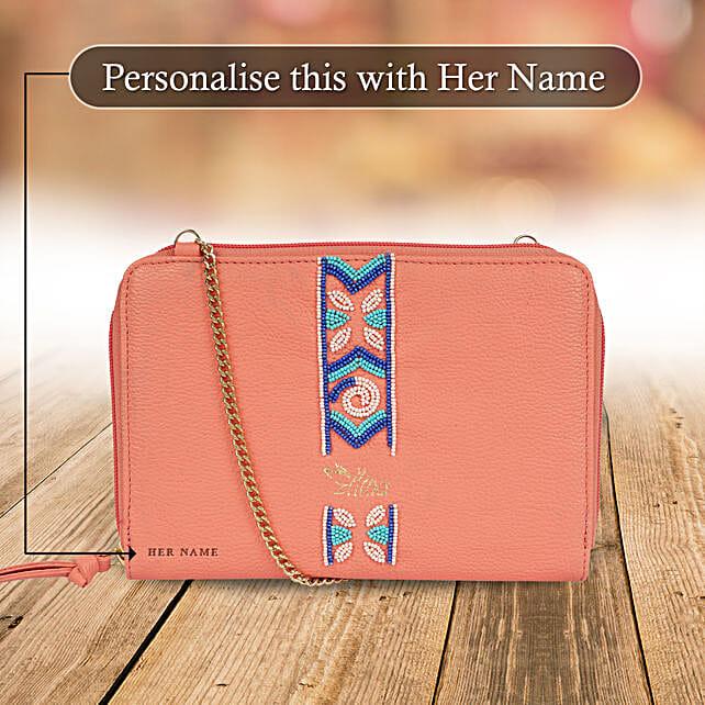 Designer Pink Sling Bag for Her