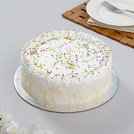 Special Delicious Vanilla Cake 1kg Eggless