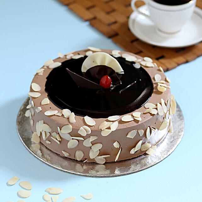 Swedish Almond Crunch Cake Half KG Eggless