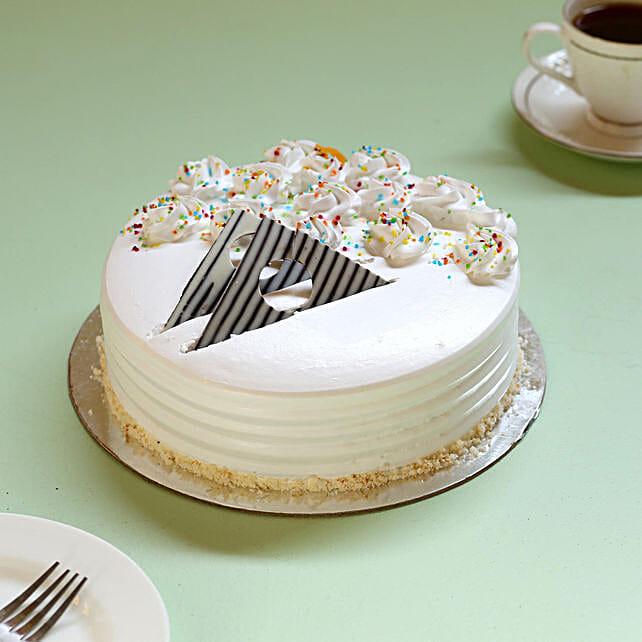 Online creamy vanilla flavour cake