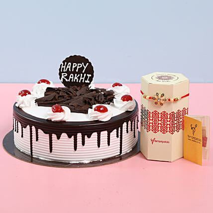 Black Forest Cake for Rakhi