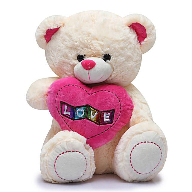 Online Love Teddy Bear