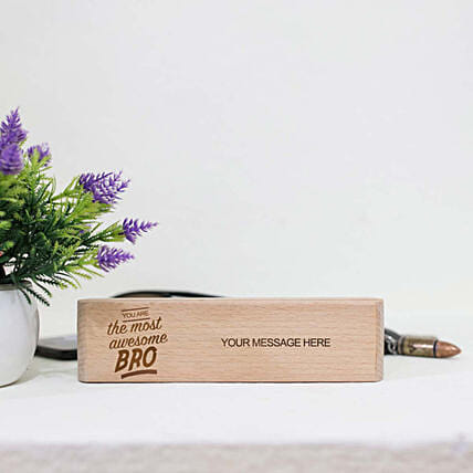 Personalised Pen In Awesome Brother Box
