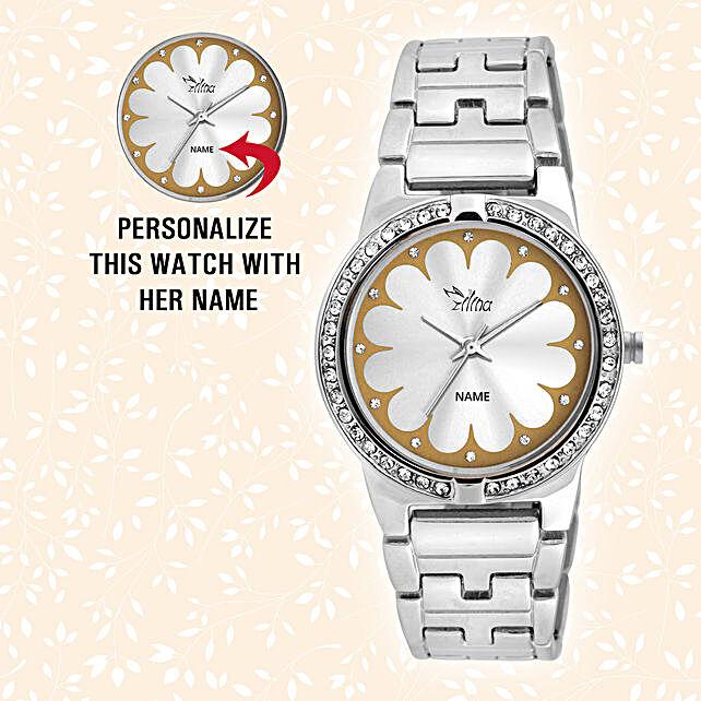 Debonair Personalised Watch For Her:Send Personalised Watches