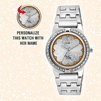 Elegant Personalised Watch For Her