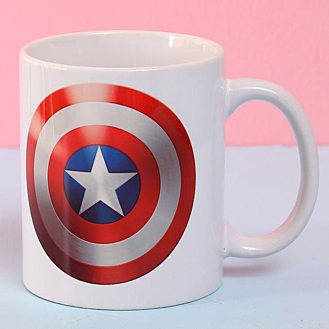 Online Captain America Ceramic Mug:Gifts to Itanagar