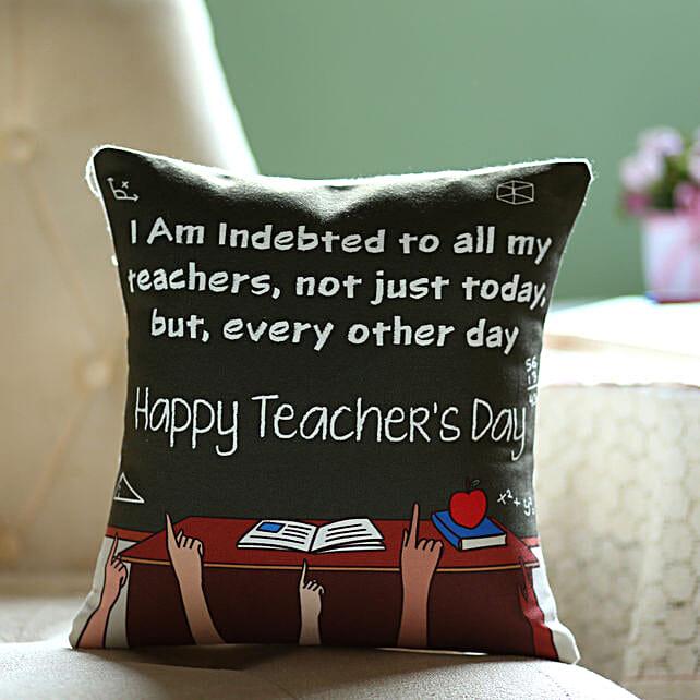 Teacher Day Special Cushion