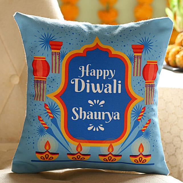 Online Customised Diwali Cushion
