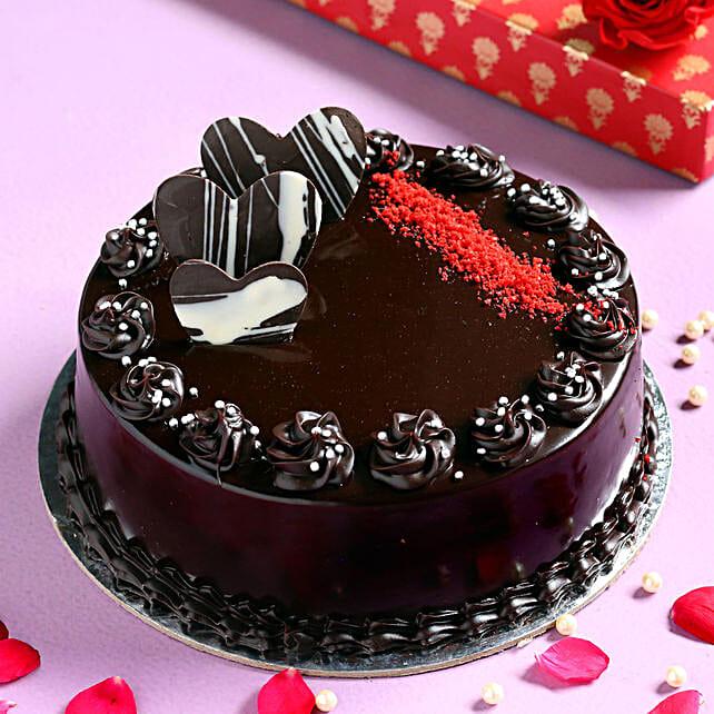 Chocolate Cream Cake Online:Gifts to Bidar