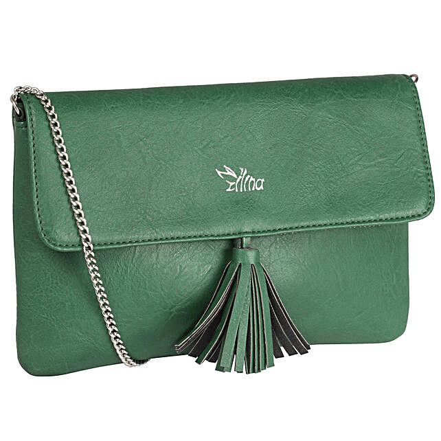 Stunning Green Sling Bag