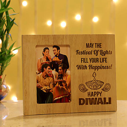 Happy Diwali Personalised Photo Frame