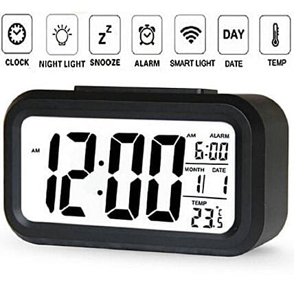 Light Sensor Digital Alarm Clock