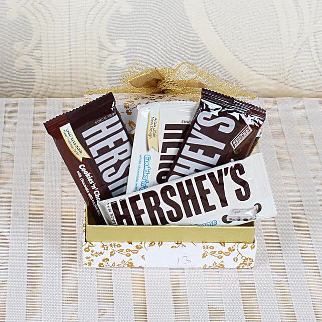 Chocolate Bar Basket