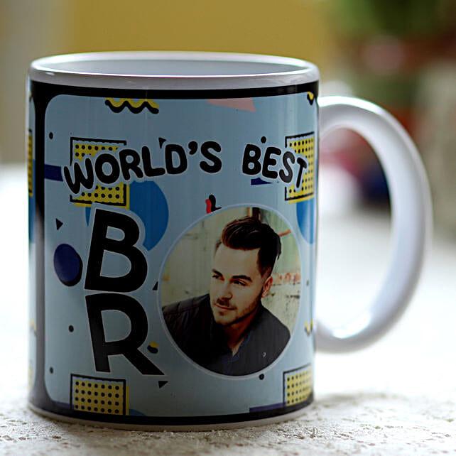 Personalised World Best Bro Mug