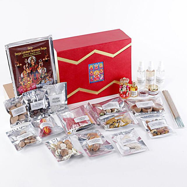 Goddess Lakshmi Pooja Box:Pooja Boxes