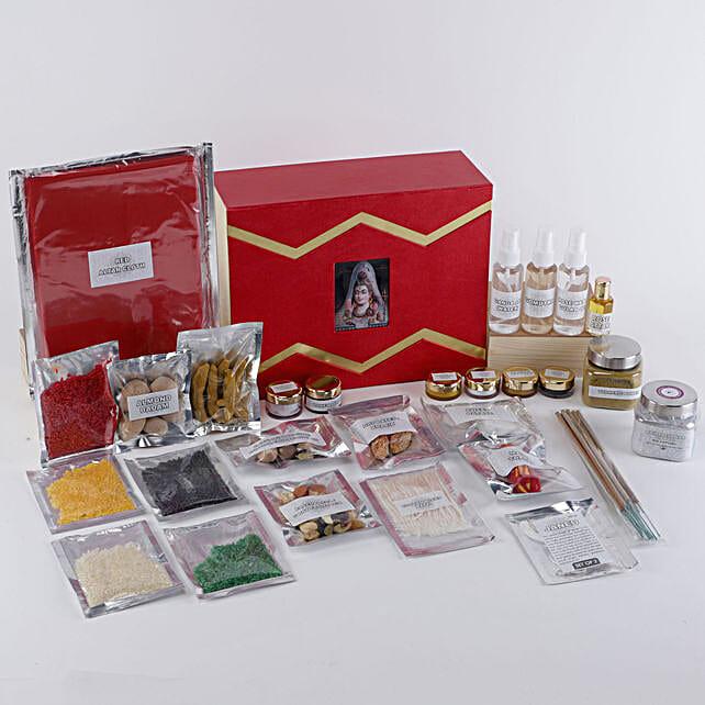 Lord Shiva Pooja Box:Pooja Samagri Boxes