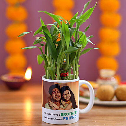 Personalised Brother Friend 2 Layer Bamboo