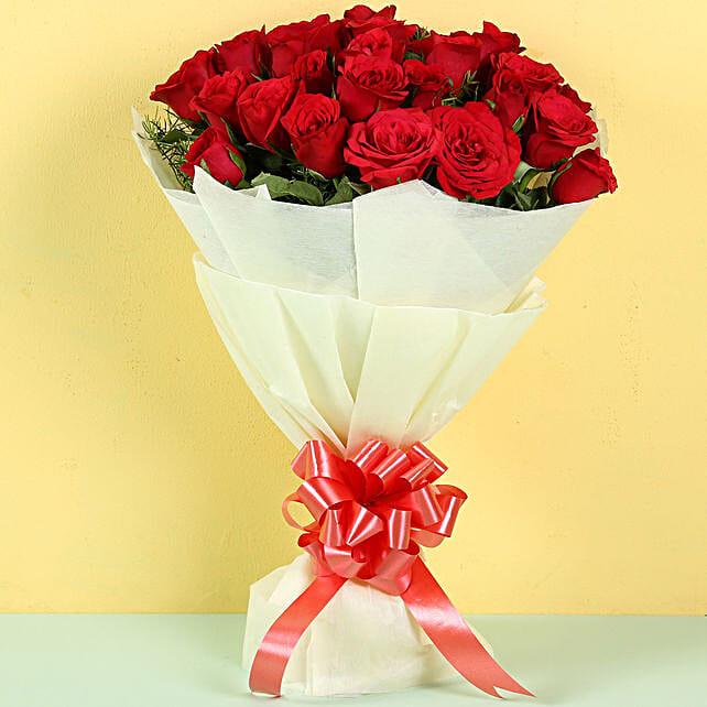 Exquisite 25 Red Roses Bouquet